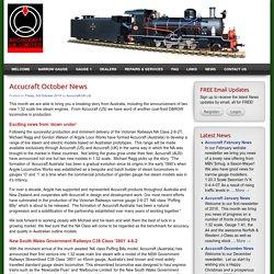Accucraft October News