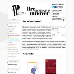 Presses Universitaires Blaise-Pascal