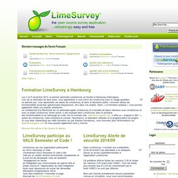 the free & open source survey software tool !