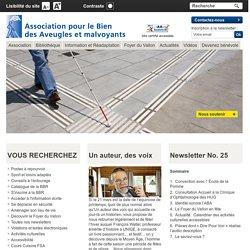 ABAGE - Association pour le bien des aveugles et malvoyants - Accueil