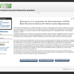 Outil territorial interactif d'information spacialisée