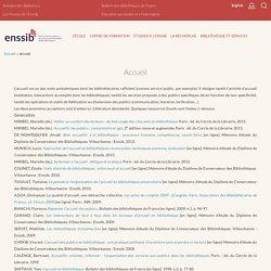 Dictionnaire ENSSIB