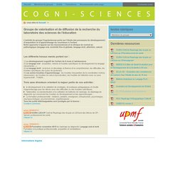 Cogni-sciences