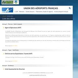 Accueil - Union des Aéroports Français