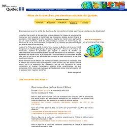 Accueil - Atlas - Statistiques - MSSS
