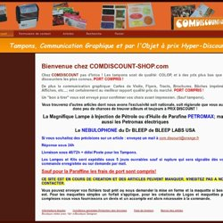 Accueil - Boutique en ligne
