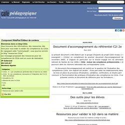 Accueil - C2i2e