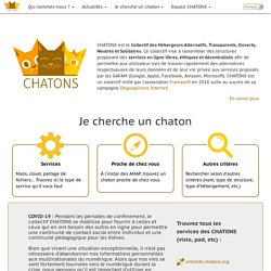 Accueil CHATONS