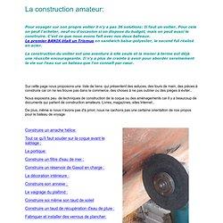 page d'accueil construction amateur