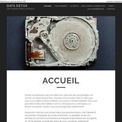 Accueil - DATA DETOX