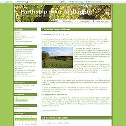 Accueil - Earthship pour la planète