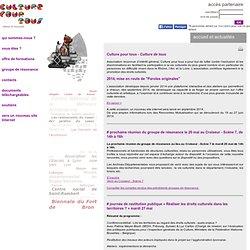 accueil et actualités