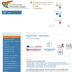 Accueil IFSI Paris : Groupe hospitalier Paris Saint Joseph, IFSI