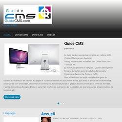 Bienvenue sur Guide CMS Guide CMS