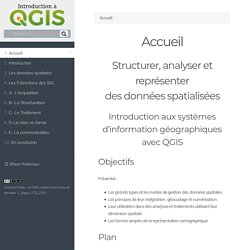 Introduction à QGIS