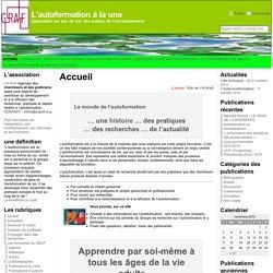 GRAF - Groupe de Recherche sur l'Autoformation en France