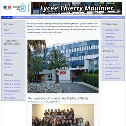 Accueil - Lycée Thierry Maulnier