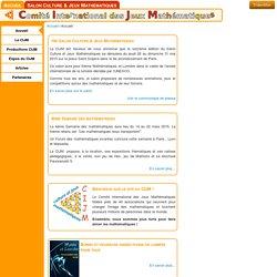 Accueil - CIJM - Jeux Mathématiques en France et dans le Monde