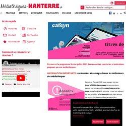 92 Médiathèques de Nanterre
