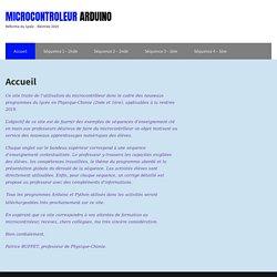 Microcontroleur Arduino (Patrice BUFFET)