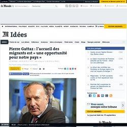 Pierre Gattaz : l'accueil des migrants est «une opportunité pour notre pays»