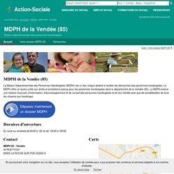 MDPH de la Vendée (85) : Accueil des personnes handicapées.
