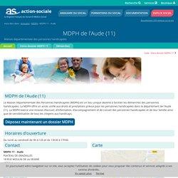MDPH de l'Aude (11) : Accueil des personnes handicapées.