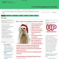 BnF - Portail Développement durable