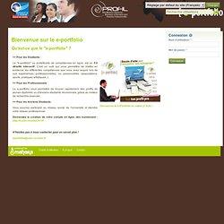 Accueil - E-portfolio - Université de la Réunion