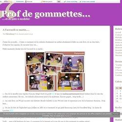 Accueil - Prof de gommettes...
