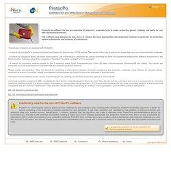 Outil d'aide au choix des gants en fonction des subtances utilisées - PROTECPO INRS