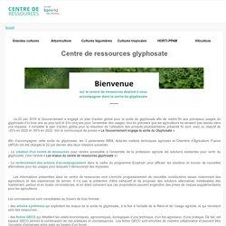 Page d'accueil centre de ressources