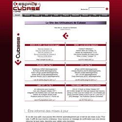 Accueil / Le Sommaire / Le Site des Utilisateurs de Cubase