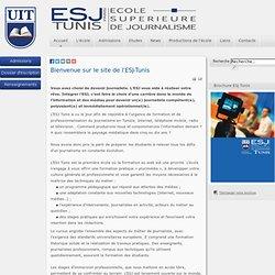 Accueil - ESJ Tunis - Ecole Supérieure de Journalisme de Tunis