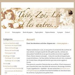 Théo, Zoé, Léo et les autres...
