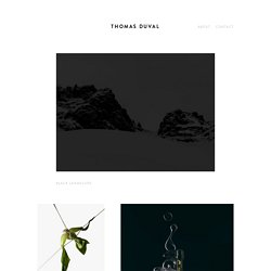 Accueil - THOMAS DUVAL - Photographie