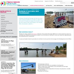 Bureau d'Accueil des Tournages - L'Agence régionale Pays de la Loire