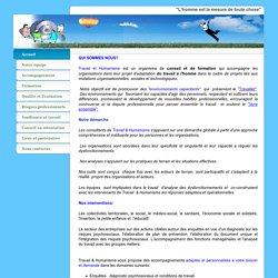Accueil - Travail & Humanisme