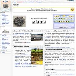 Accueil - Wicri Archéologie