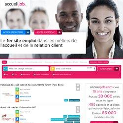 Listings - Accueiljob: Offre d'emploi et recrutement hôte et hôtesse d'accueil-