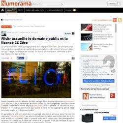 Flickr accueille le domaine public et la licence CC Zéro