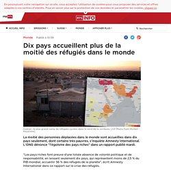 Dix pays accueillent plus de la moitié des réfugiés dans le monde - rts.ch - Monde