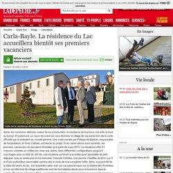 Carla-Bayle. La résidence du Lac accueillera bientôt ses premiers vacanciers - 14/12/2012 - ladepeche.fr