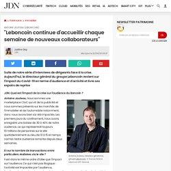 """Antoine Jouteau (Leboncoin):""""Leboncoin continue d'accueillir chaque semaine de nouveaux collaborateurs"""""""