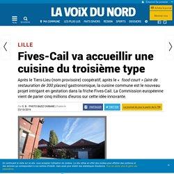 26.10.2016 - Article VdN - Fives-Cail va accueillir une cuisine du troisième type