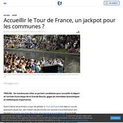 Accueillir le Tour de France, un jackpot pour les communes ?