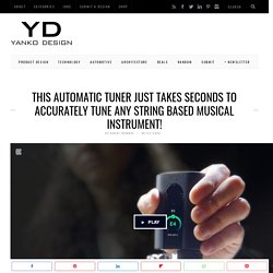 This automatic tuner just takes seconds to accurately tune any string based musical instrument!