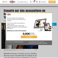 DONE Enquête sur des accusations de harcèlement en équipe de France de Taekwondo