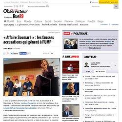 """""""Affaire Soumaré"""" : les fausses accusations qui gênent à l'UMP"""