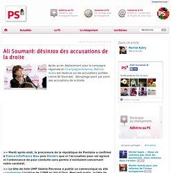 Ali Soumaré: désintox des accusations de la droite